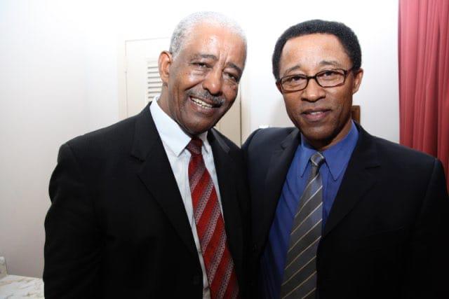 Girma with Mahmoud Ahmed