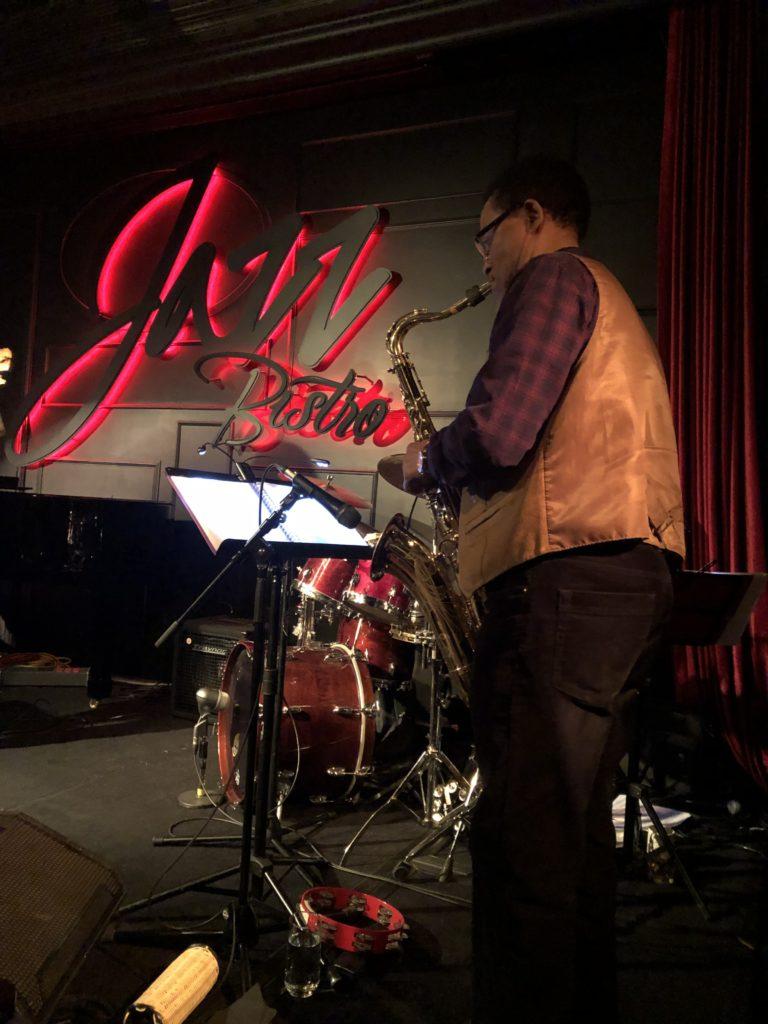 At the JazzBistro